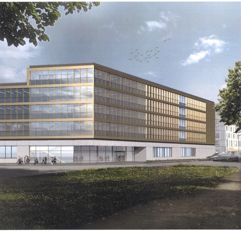 Planning view of the new EAS institute building